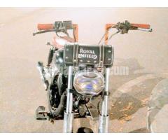 Custom made Bobber / Chopper motorcycle for sell