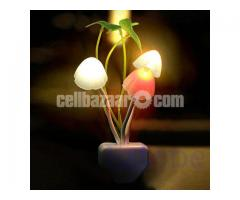 Electric Mushroom LED Night Light With Sensor