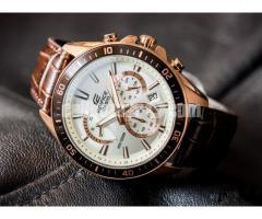 WW0117 Original Casio Edifice Chronograph Watch EFR-552GL-7AV
