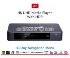 Egreat A5 Android HDR 4K Blu-ray HDD WiFi Media Playe