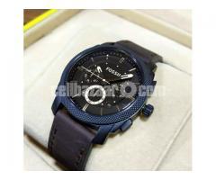 WW0122 Original Fossil Machine Chronograph Watch FS4656