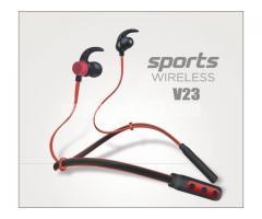 sports neckband wireless headphones