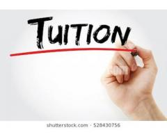 Tuition availble