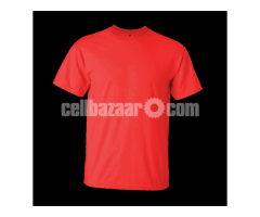 Men's T-shirt With your Logo and Embroidery