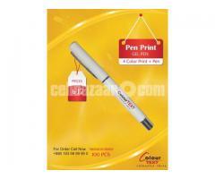 PEN PRINT (Gel Pen)