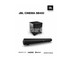 JBL Cinema SB450 440W Soundbar Best Price IN BD