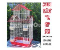 Large double-decker villa China bird cage