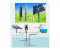 Submersible Solar pump System for irrigation