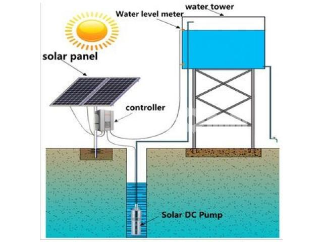 Submersible Solar pump System for irrigation - 3/5