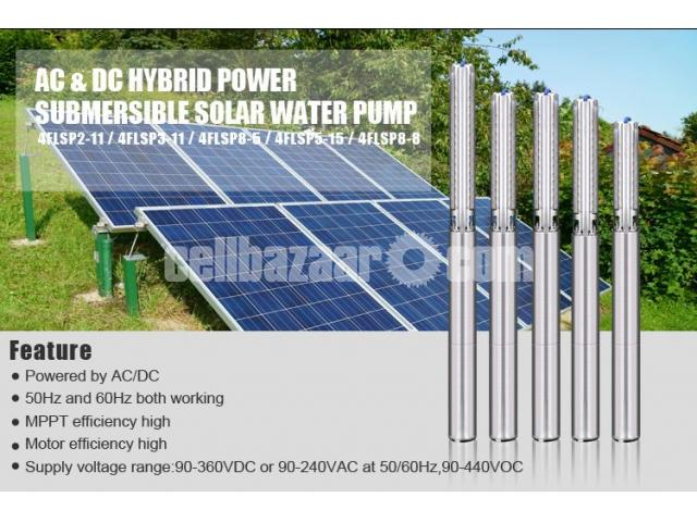 Submersible Solar pump System for irrigation - 4/5