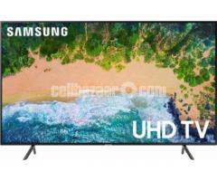 "UHD 4K Smart Samsung 43""Nu7100 TV"