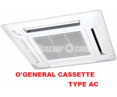 O'General  Cassette Type AC 1.5 Ton