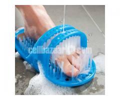 Foot Cleaner Bath Shoe Brush Slippers-পা পরিস্কার করতে