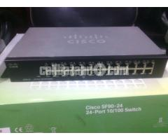 Cisco 24 Port Network Switch