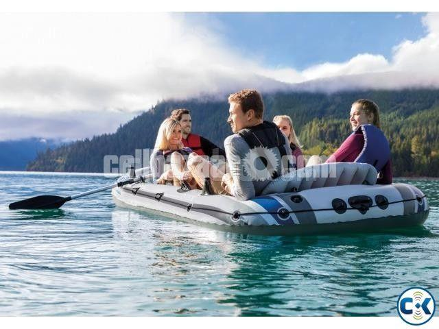 Intex Excursion 4/5 Person Raft Air Boat - 1/4