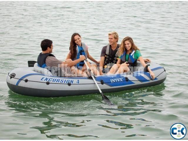 Intex Excursion 4/5 Person Raft Air Boat - 2/4