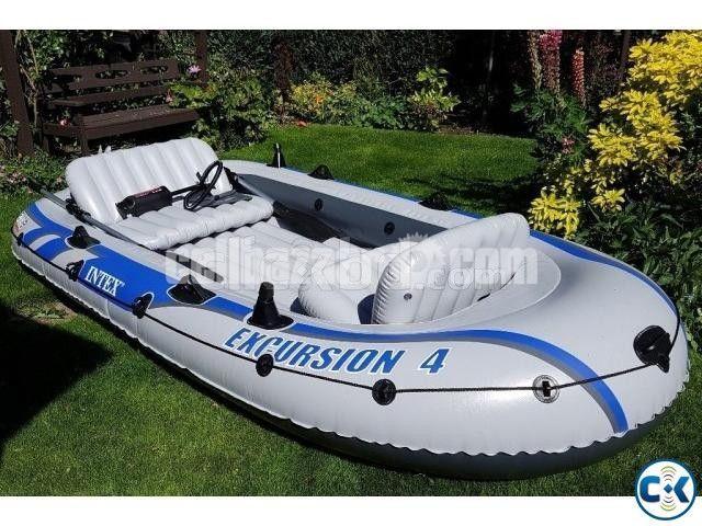 Intex Excursion 4/5 Person Raft Air Boat - 3/4