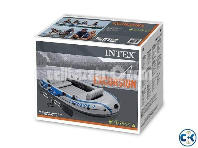 Intex Excursion 4/5 Person Raft Air Boat - 4/4