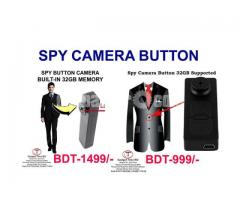 Spy Camera Button 32GB Built-in Memory