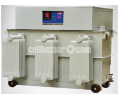 1000 KVA  Oil Cooled Voltage Stabilizer
