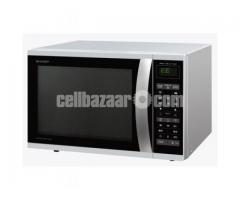 Sharp R-72A1-SM-V 25L Stainless Body Grill Microwave Oven