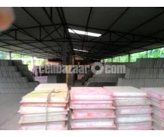 4 bigha land with factory setup