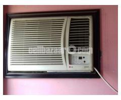 1.5 Ton window AC [ Brand : LG , Gold series ]