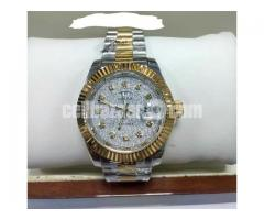Rolex 18k Gold Replica Watch