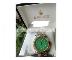 Rolex 18k Gold Replica Watch