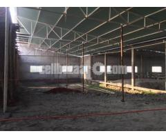 32000 sqfr shed for rent at khalikuir gazipur