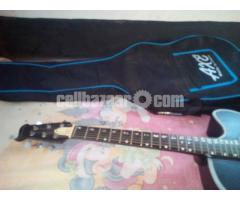 Locked Acoustic Guitar