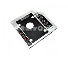 HDD SSD Caddy Adapter Support 9.5mm Laptop