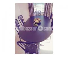 Navana Dinning Table & 6 Chairs