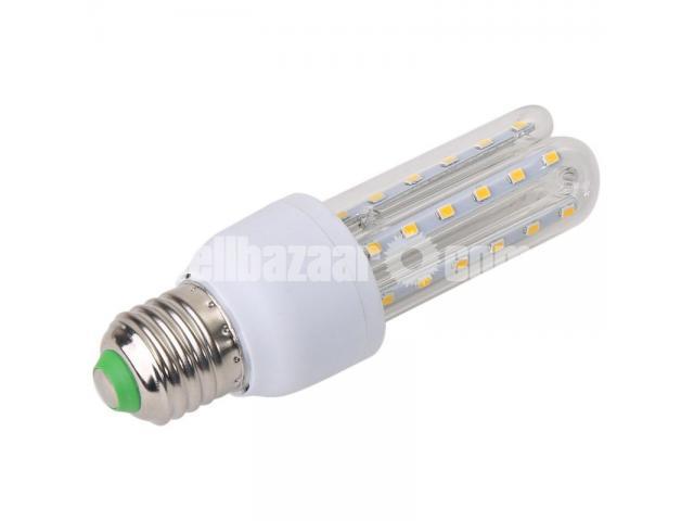 U-Shape SMD Corn Bulbs White Clear - 2/3