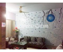 Full furnished flat rent for long term
