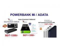 Powerbank Adata / Mi 10000mAh / 12500mAh