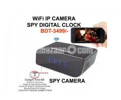 Spy Wifi IP Camera Digital Clock