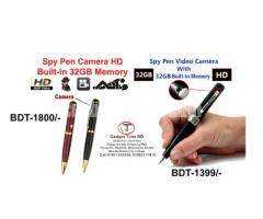 Spy Pen Camera Built-In 32GB Memory