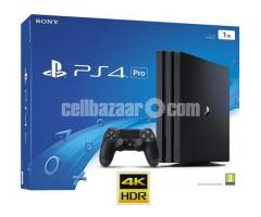 Sony PlayStation 4 Pro  1TB HDD 4K  PRICE IN BD