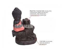 Creative Home Decor Little Monk Censer Backflow Incense Burner