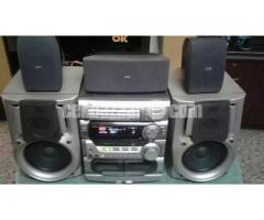 JVC COMPACT COPONENT SYSTEM