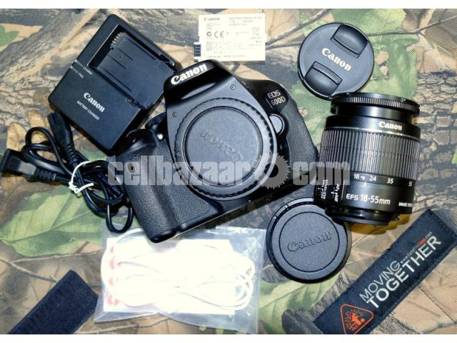 Canon EOS 600D DSLR Camera with EF-S 18-55mm f/3 5-5 6 IS II Lens Kit