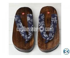 Stylish Japanese Wooden Clogs Sandals Anti-slip