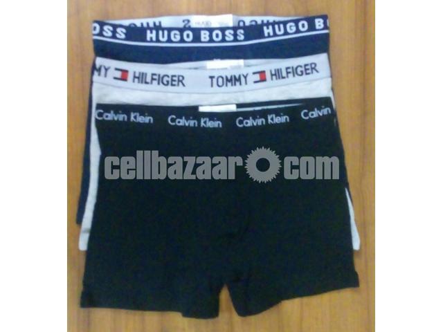 Men's Boxer Shorts: Calvin Klein, Hugo Boss & Tommy Hilfigar - 3/4