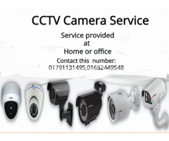 CCTV camera service provided at Home/office