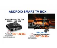 X96 Mini Android 7.1.2 Smart TV Box (2/16GB) 1200+Live HD Channel Free