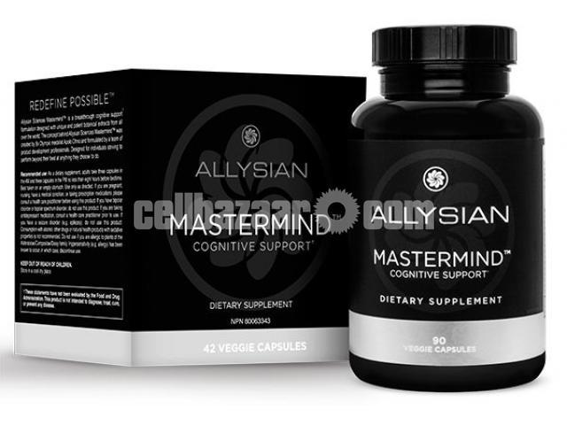 Allysian Mastermind™ 180 Veggie Capsules from Canada - 4/4