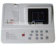 ECG  Machine (Three Channel)