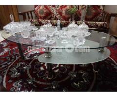Full glass table