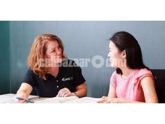FEMALE TUTOR FOR O/A LEVEL ENGLISH LANGUAGE AND LITERATURE - 1/2